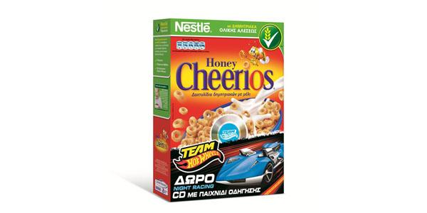 Δώρο παιχνίδια Hot Wheels από τα παιδικά δημητριακά Nestlé