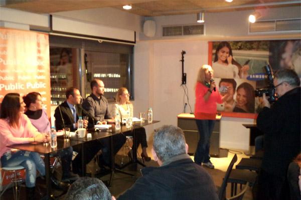 Με μεγάλη επιτυχία παρουσίασε ο Δημήτρης Γρηγοράκης το νέο του βιβλίο για την Παιδική Παχυσαρκία στο Public Συντάγματος