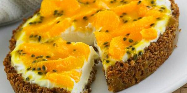 Πίτα με φρούτα του πάθους