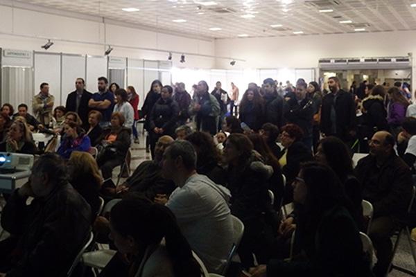 Με μεγάλη επιτυχία πραγματοποιήθηκε η εκδήλωση της ΕΛ.Δ.Ε. στο Μετρό Συντάγματος, με θέμα: «Διατροφή & Υγεία»