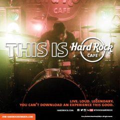 Ζήστε την απόλυτη HARD ROCK CAFE εμπειρία σε ένα μοναδικό 4ήμερο μουσικό φεστιβάλ!