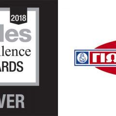 ΓΙΩΤΗΣ A.Ε.: Νέο βραβείο εξαιρετικής απόδοσης