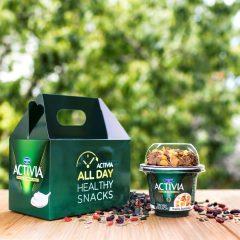 Το ACTIVIA ετοιμάζει θρεπτικά γεύματα και το e-food τα φέρνει κοντά σας!
